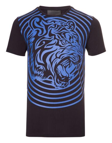 T-shirt Round Neck SS Tribal Plein