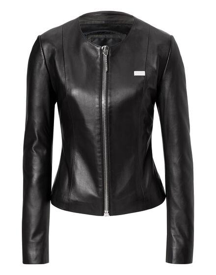 leather jacket baby go away