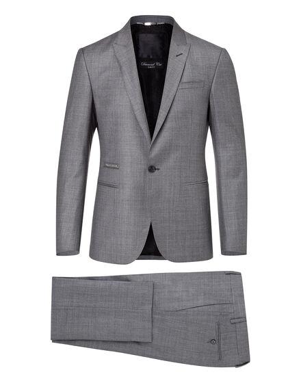 suit diamond cut obvious