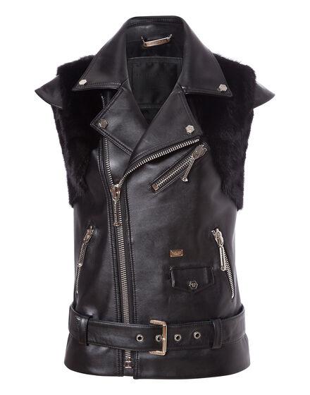 leather vest u understand me