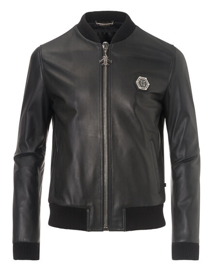 leather jacket castlegar