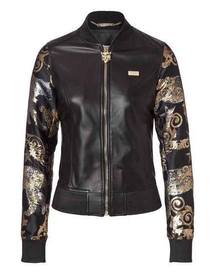 Leather Bomber Duard