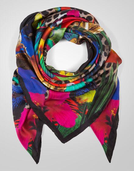 "satin scarf ""freelove"""