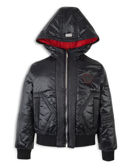 nylon jacket houston