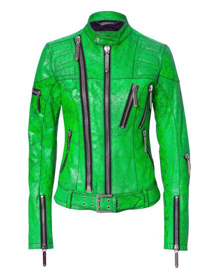 leather jacket pop rider