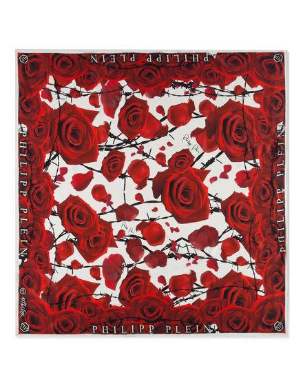 """scarf satin """"romance"""""""