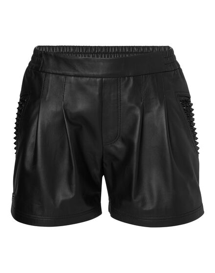 leather shorts oh oh