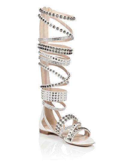 sandals peplum