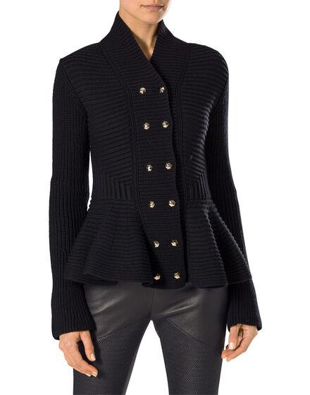 "knit cardigan ""luxury"""