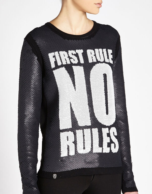 "pullover ""no rules"""
