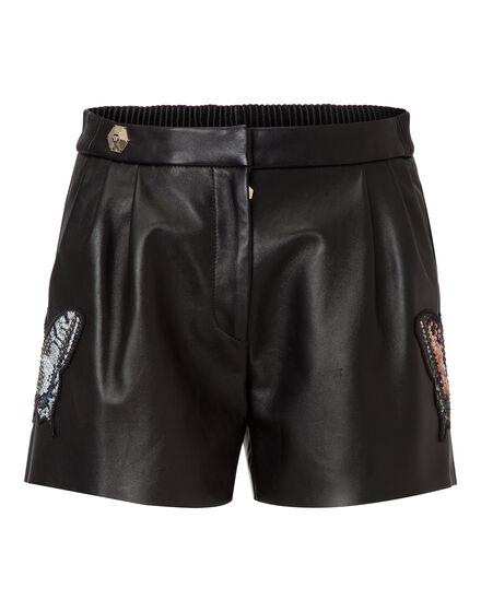 leather shorts masa