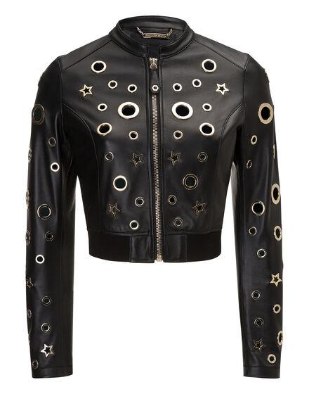 Leather Bolero Charly