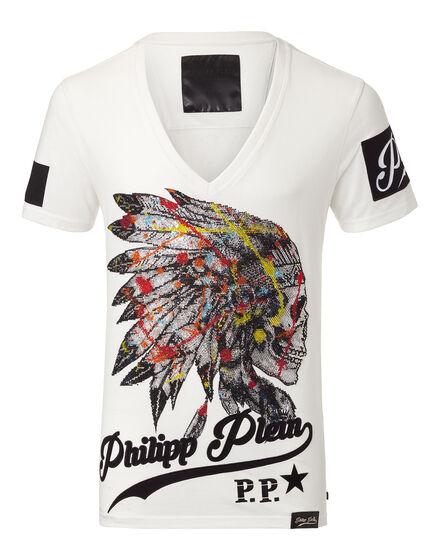 T-shirt V-Neck SS Awan