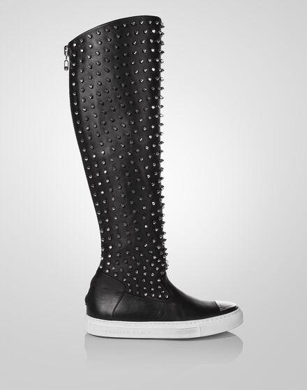"""high boots """"fan"""""""