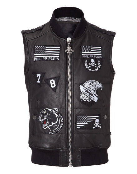 leather vest gaspe