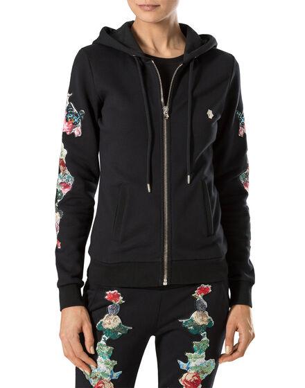 """hooded jacket """"love murderer"""""""