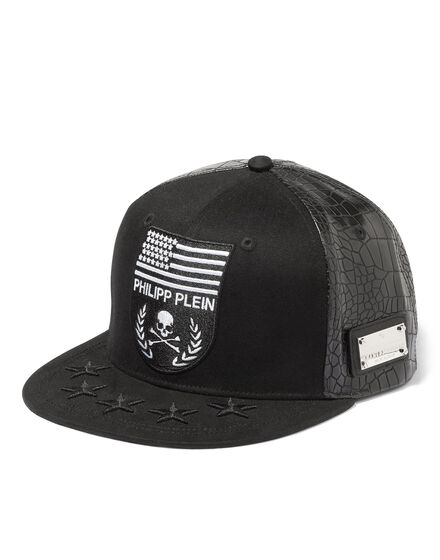 """baseball cap """"in the end"""""""