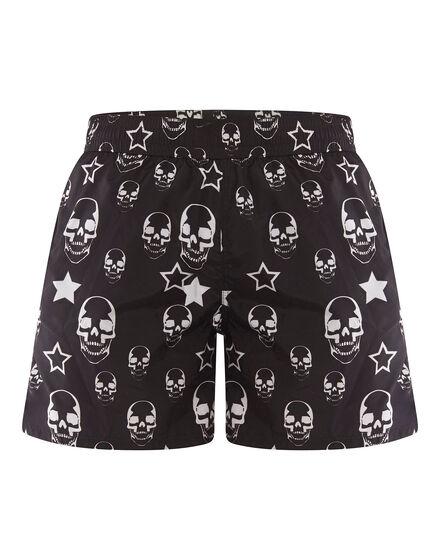 shorts skulls and stars