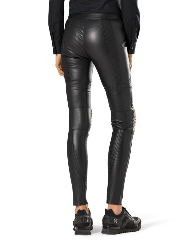 """leather trousers """"fontaine"""""""