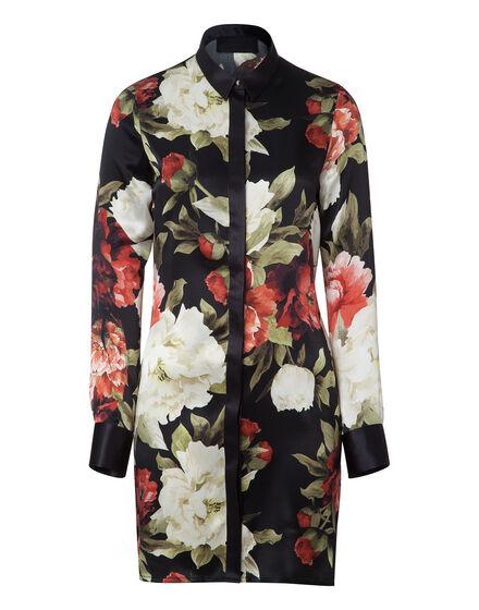 shirt dress dark glamour