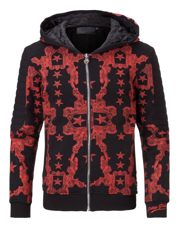"hooded jacket ""rococo"""