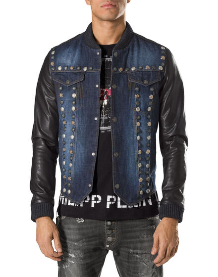 "leather jacket ""bayfield"""