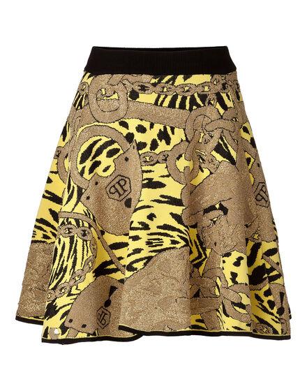 Knit Short Skirt Hermm