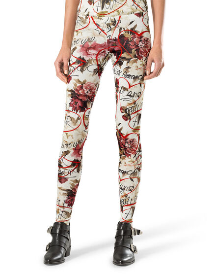 "leggings ""red blossom"""
