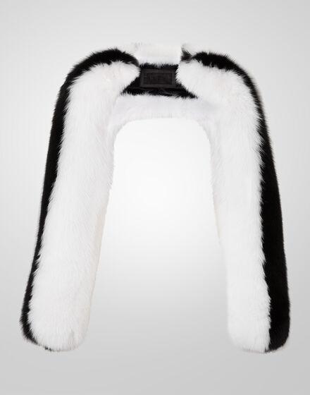 fur jacket body