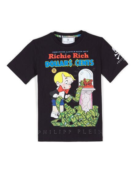 """t-shirt """"richie and the dollar machine"""""""