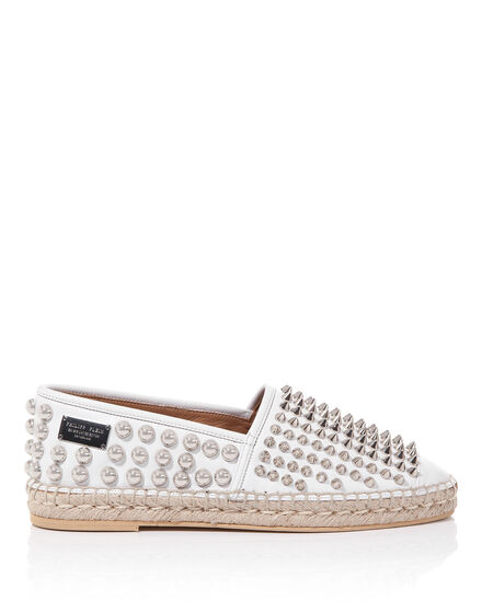"espadrilla ""broken dishes"""