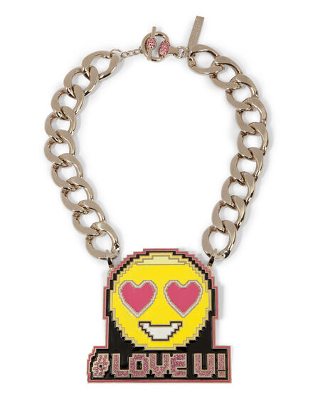 """necklace """"time to play"""""""