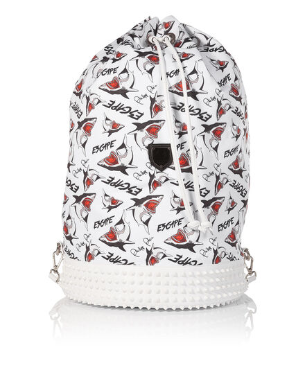 """backpack """"be here"""""""