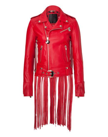 leather jacket dallas