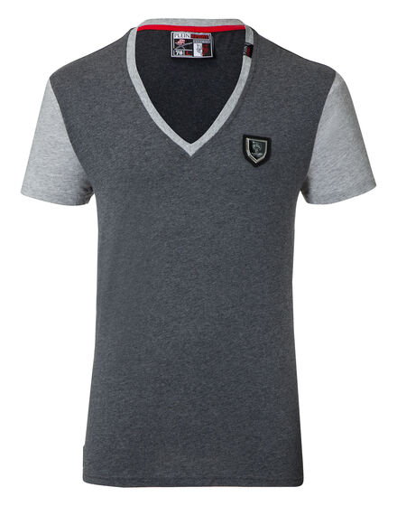 T-shirt V-Neck SS Last