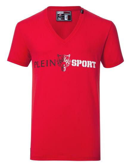 T-shirt V-Neck SS Hang