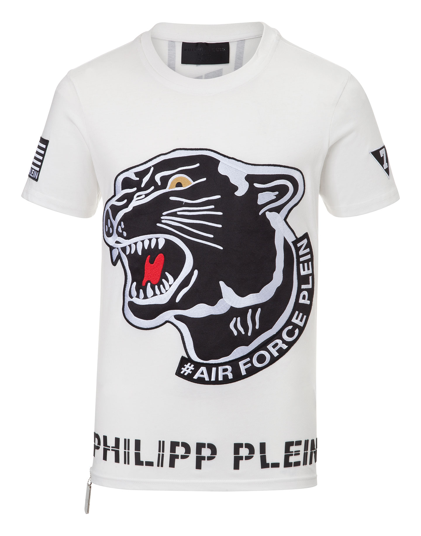 t shirt aggressive philipp plein outlet. Black Bedroom Furniture Sets. Home Design Ideas