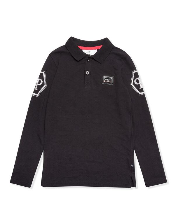 "Polo shirt LS ""Infinite"""