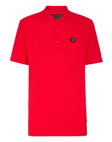 Polo shirt SS Allover skull