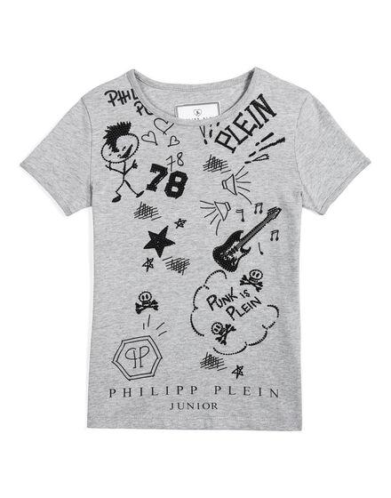 t-shirt punk plein