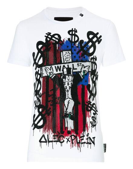 - T-shirt Round Neck SS Monopoli A four