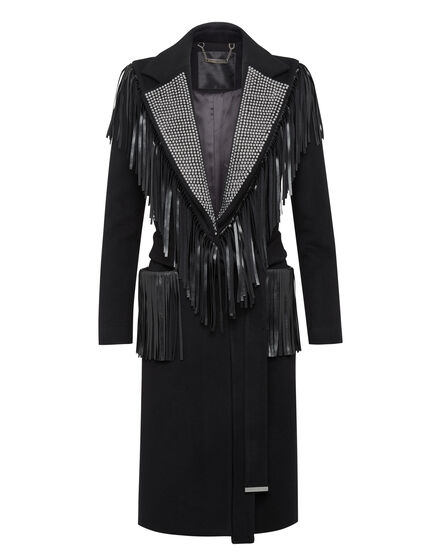 Coat Long Fringe