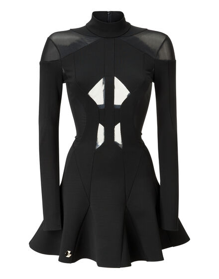 short dress second skin