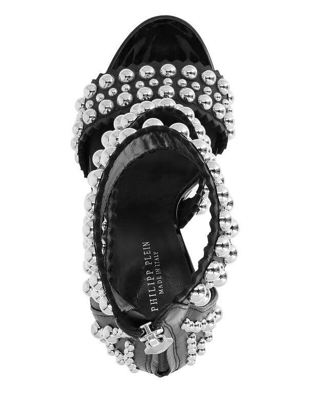 """Sandals High Heels """"Rounded Studs"""""""