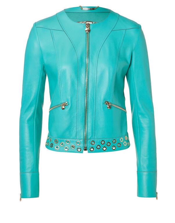 "Leather Jacket ""Apatite"""