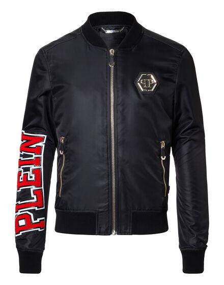 Nylon Jacket Never give up