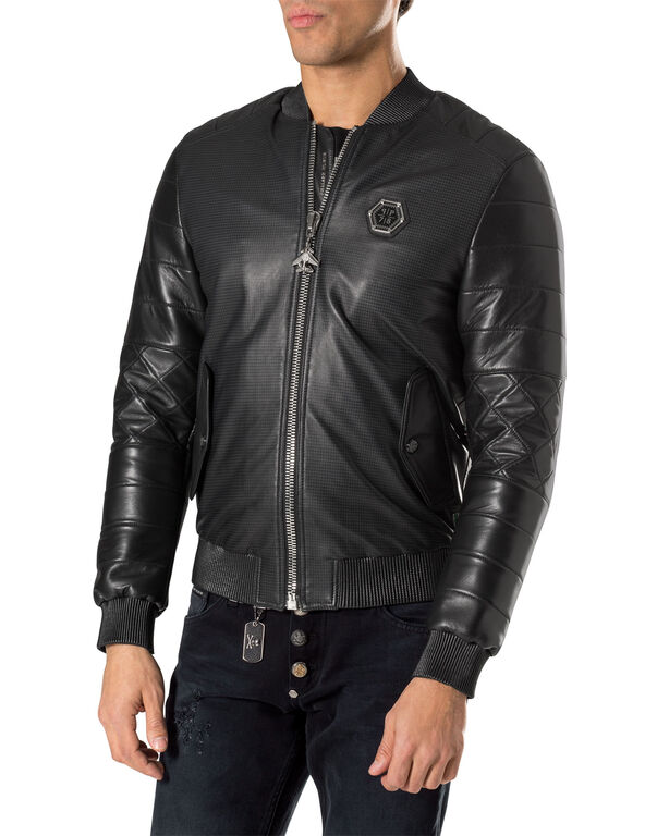 "leather bomber ""isolation"""