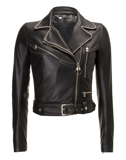 Leather Biker Gurla