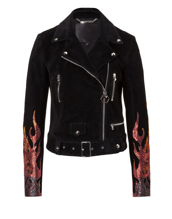 "Leather Jacket ""Bujumbura"""