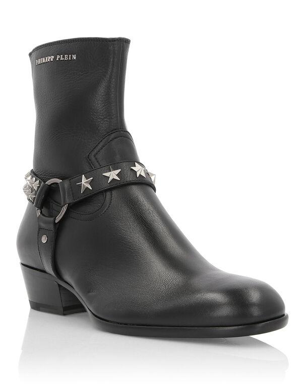 "Boots Mid Flat ""Tom"""